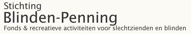 stichting blinden penning