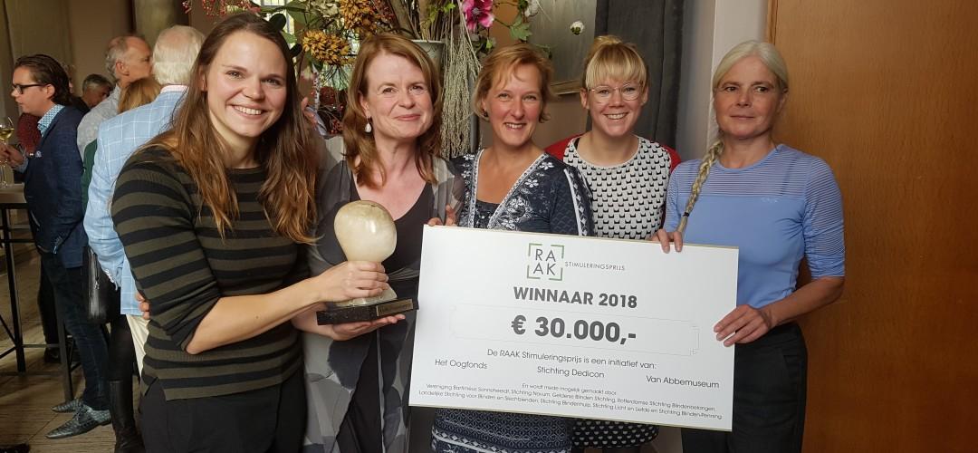Verzetsmuseum wint RAAK Stimuleringsprijs